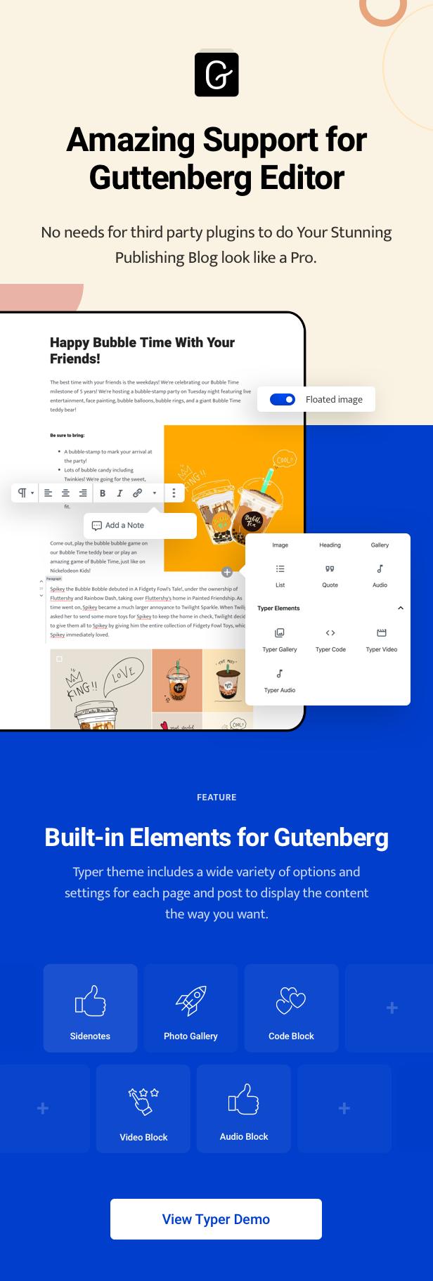 Typer - Amazing Blog and Multi Author Publishing Theme - 7