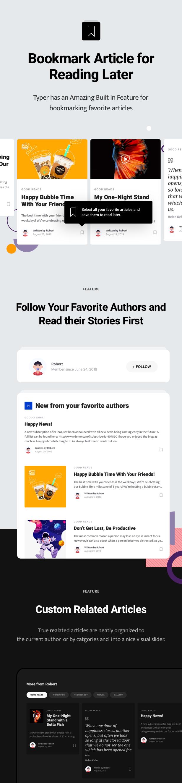 Typer - Amazing Blog and Multi Author Publishing Theme - 9